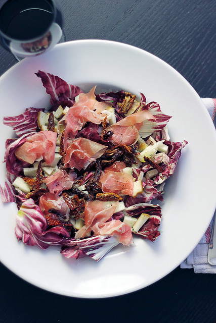Speck, Scamorza and Radicchio