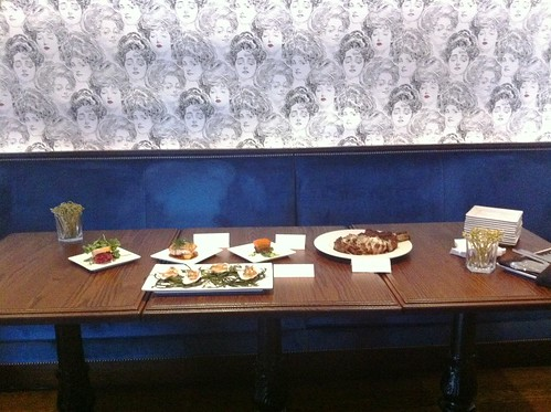 The spread for Lost Society's Media Night in D.C.