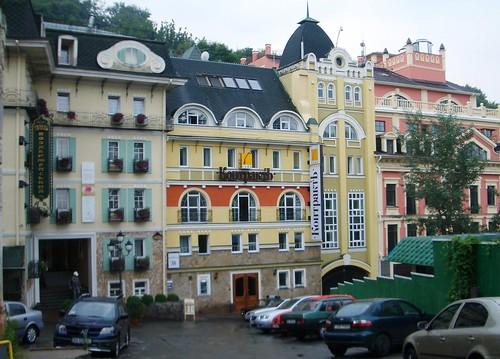 St Andrew's Descent, Kiev