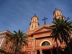 Eglise à Santiago du Chili