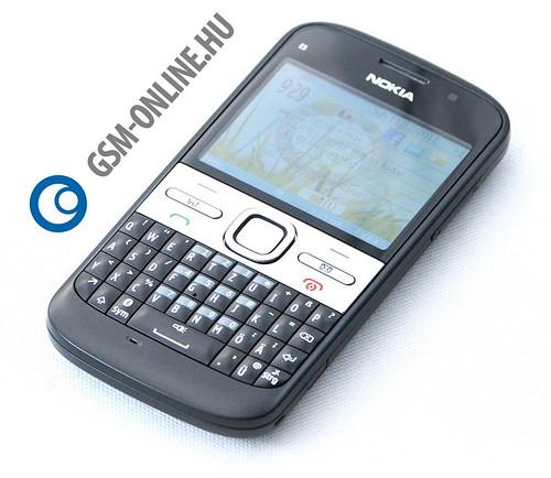 Nokia E5 elölrõl