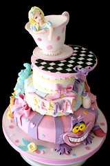 alice in wonderland cake (*liis*) Tags: birthday party cake fun whimsy alice pastel aliceinwonderland dreamcake alicecake wwwtourtescom
