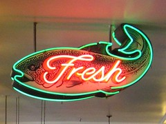 Fresh fish at City Fish