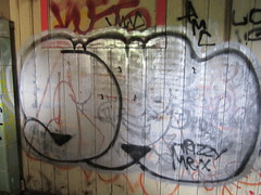 SWERV (what you write?) Tags: sf graffiti lol amc atb oms wkt swerv