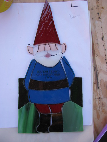 Gnome Stained Glass WIP