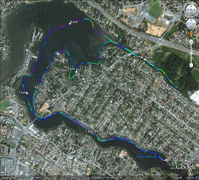 2011-07-01 Canada Day Route