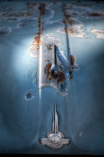 auto old travel blue light car logo handle boot rust automobile peeling paint turquoise rusty beam vehicle aged morris minor bonnet paintwork