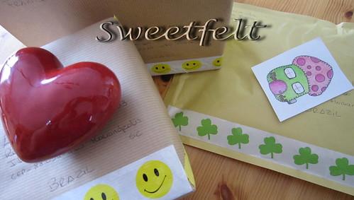 Dia de Correio ... by sweetfelt \ ideias em feltro