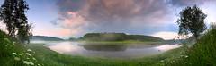 Volga River evening panorama (czdistagon.com) Tags: explore panorama summer nature landscape cz contax distagon 3514 czcontaxdistagon3514 lee sky river morning morninglight russia fog istagont1435 czdistagon czdistagoncom aleksandrmatveev carlzzeiss zeiss volga woods outdoors wild ecology