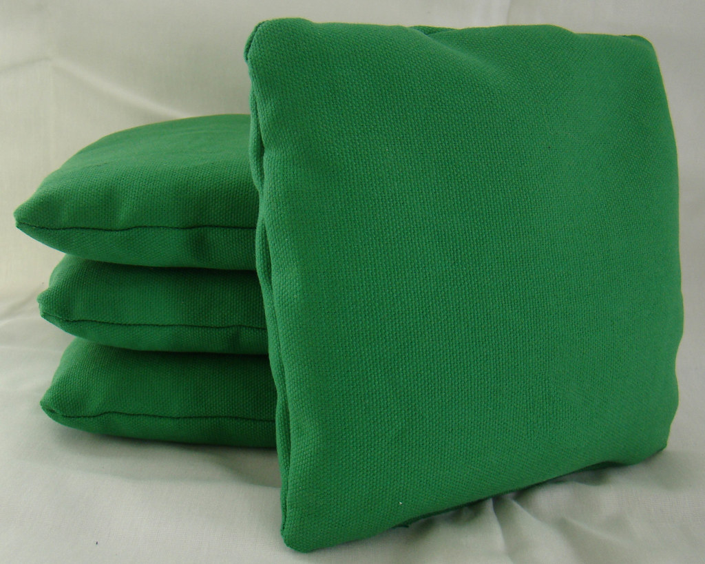 Green Cornhole Bags