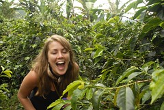 the butterflies are tickling me (ma vie en rouge) Tags: southamerica coffee cafe colombia salento finca amricadosul sudamrica ashleyhill quindo coffeetriangle tringulodelcaf coffeegrowersaxis