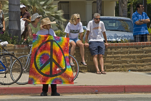 Old Hippie by Damian Gadal