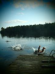 haluna 205 (Lalallallala) Tags: summer lake holiday suomi finland countryside friend summerhouse mkki summercottage savo savolax nilsi haluna mkkeily suurpieks easternfinland itsuomi