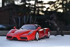 Ferrari Enzo 1:18 + Black horse (MODEL CAR PASSION) Tags: horses horse hot cars car hp italian power wheels ferrari enzo supercar maranello 118 diecast kyosho cavallino fxx