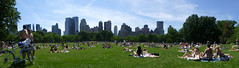 sunday in the park (army.arch) Tags: newyorkcity panorama ny newyork centralpark sunday historic historicpreservation sheepmeadow nationalregister nationalregisterofhistoricplaces nrhp