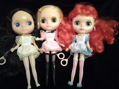 Three little maids.