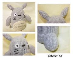 Totoro! <3 (Ruth Burton (Clow) -狼-) Tags: anime lana wool yellow japan children toy warm doll sweet pastel manga amarillo totoro miyazaki softfocus ghibli muñeco amigurumi tones japon juguete tonarinototoro warmtone hayaomiyazaki chil