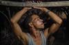 NOT a Telenovela (Giovanni Savino Photography) Tags: sunset portrait dominicanrepublic profile smoking portraiture hanging youngman telenovela strobist magneticart ©giovannisavino dr2014