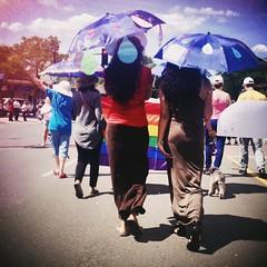 Saturday Stroll (dzgnboy) Tags: toronto parade umbrellas worldpride richmondhillcentrefortheperformingarts yorkregionpride