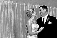 Dallas - Married Couple (60-ies Style) (Edited) (Drriss & Marrionn) Tags: wedding usa pose blackwhite dallas texas marriage marriedcouple dallastx 60iesstyle
