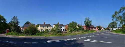 Old Buckenham, Panorama. Nikon D3100. DMC_0162-0171.