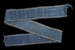 Faja Sash Oaxaca Mixtec Mechoacan (Teyacapan) Tags: mexico mexican oaxacan mixtec mechoacan jamiltepec museum indigo anil textiles weavings