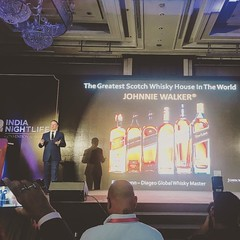 Talking Scotch to 300 industry professionals at the India Nightlife Convention & Awards. #incaindia #lovescotch #truespirit #johnniewalker (ewangunn) Tags: instagramapp square squareformat iphoneography uploaded:by=instagram reyes