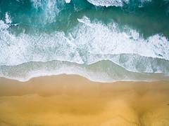 Byron Bay from above (Flo Rol) Tags: beach drone sea ocean aerial sand waves phantom people landscape sunset sunrise byron bay australia air island dronography dji sky surf