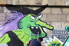 YES KIDS IT'S ACID - Urban Art Attack @ Donaukanal Wien 11_49 (artpjf) Tags: wien streetart art look graffiti cone kunst urbanart donau nychos vidam dxtr strasenkunst donaukanalwien lowbros