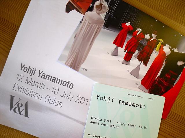 Yohji Yamamoto exhibition