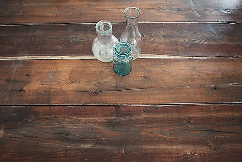 7 DIY Vintage-Look Wood Table Tutorial