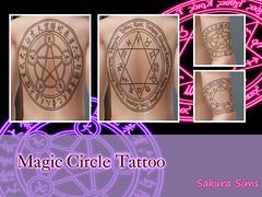 Magic Circle Tattoo