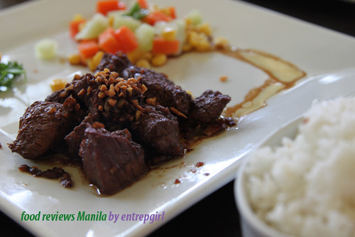Conti's Beef Salpicao