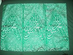 A piece of Holy Cover of Roza-e-Rasool saw (SilsilaTawhidia) Tags: saw cover piece sufi abdul shahid lybia ansari taw hakim tawhid khawaja shirk ghulam rasool a rozaerasool tawhidia toheedia tabbarak