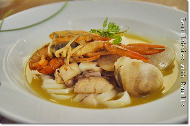 Bouillabaise with Rouille