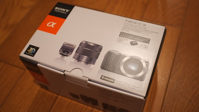 SONY NEX-C3 UnBox