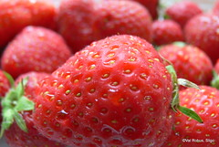 In honour of Wimbledon (magnum_lady) Tags: red fruit strawberry strawberries tennis wimbledon