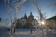 Храм и изморозь 2008 (3) (Магадан) Tags: anadyr chukotka анадырь чукотка чукчи луораветланы luoravetlan