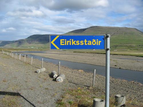 Casa de Erik el Rojo en Islandia