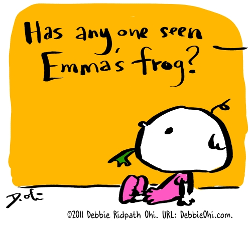 Daily Doodle: Emma's Frog