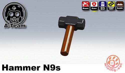 Custom minifig SWAT-N9s