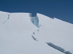 Big crevasse