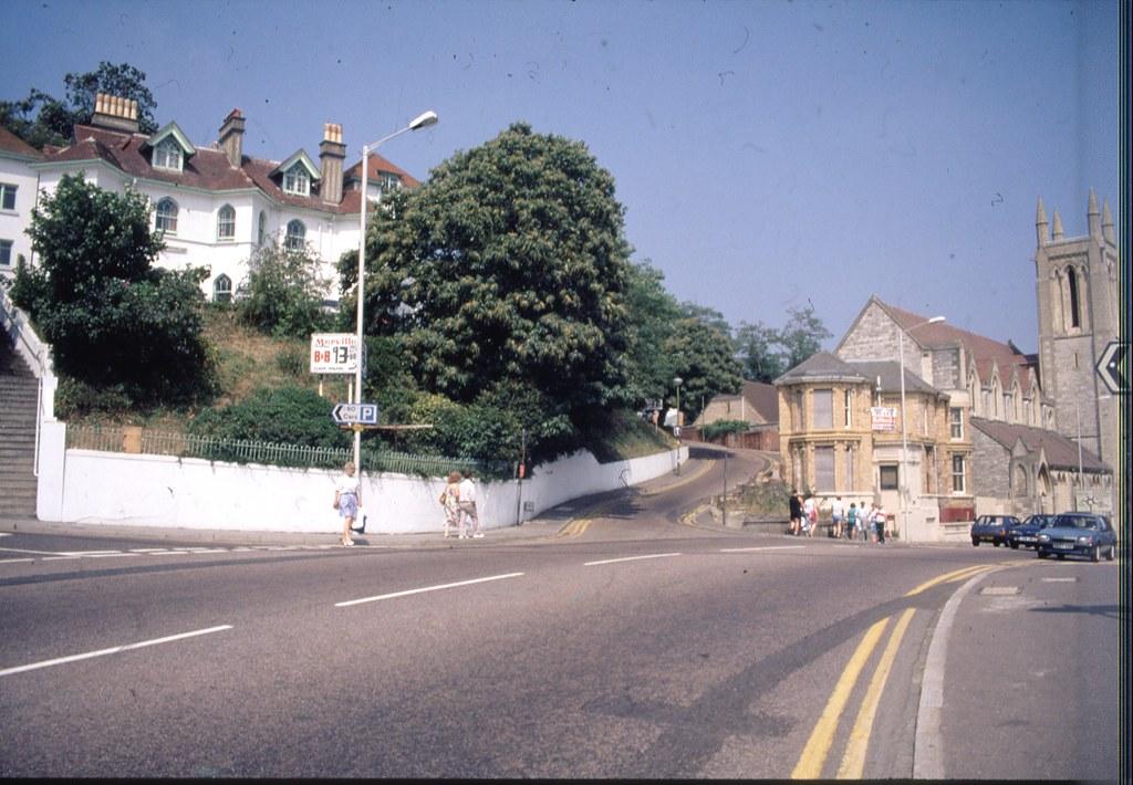 THE MERVILLE HOTEL. EXETER RD. BOURNEMOUTH. DORSET. JUNE 1990