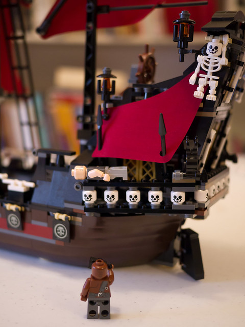 When Captain's not watching, Zombie Pirates go planking!