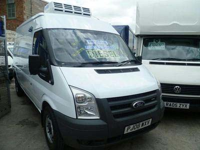 2008 '08' Ford Transit 350 LWB TDCi 115psi Semi-High Roof Freezer Van with Overnight Standby (Single Phase Electrics)