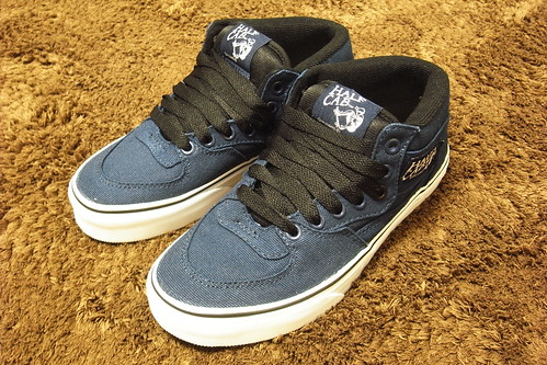 "Vans Half Cab ""14 oz. Canvas"" Dress Blues"