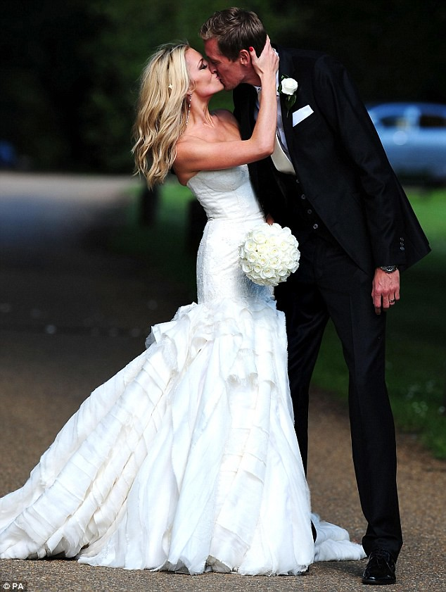 Nice day for a WAG wedding as Peter Crouch ties the knot with Abbey Clancy  2