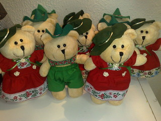 Casal de Ursos  Alemães