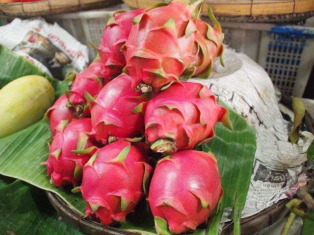 Dragon Fruit at Don Wai Market