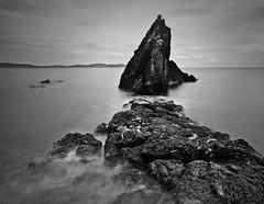 Somewhere at the coast of Northern Ireland (Tomasz Chrulski) Tags: longexposure ireland sea water landscape coast rocks northernireland seascpae tomaszchrulski